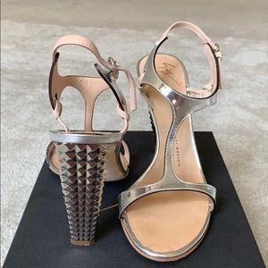 Giuseppe Zanotti Mirrored Heels